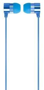 Verbatim Słuchawki dokanałowe z mikrofonem 49111 niebieskie