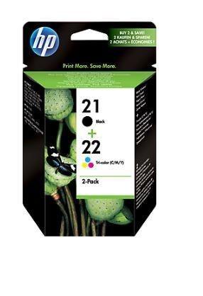 HP Zestaw HP 21/22 Combo-Pack | D1560/D1320/F2280/F2290/J3680