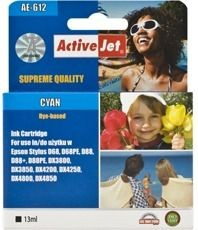 ActiveJet Tusz ActiveJet AE-612 | Cyan | 13 ml | Chip | Epson T0612