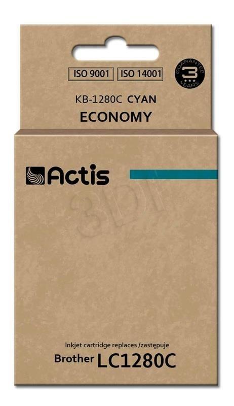 Actis Tusz KB-1280C (zamiennik Brother LC1280C; Standard; 16 ml; niebieski)