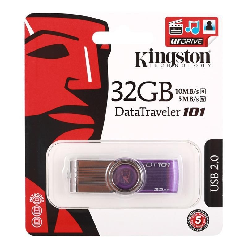 Kingston Pendrive DataTraveler 101 G2 32GB Purple
