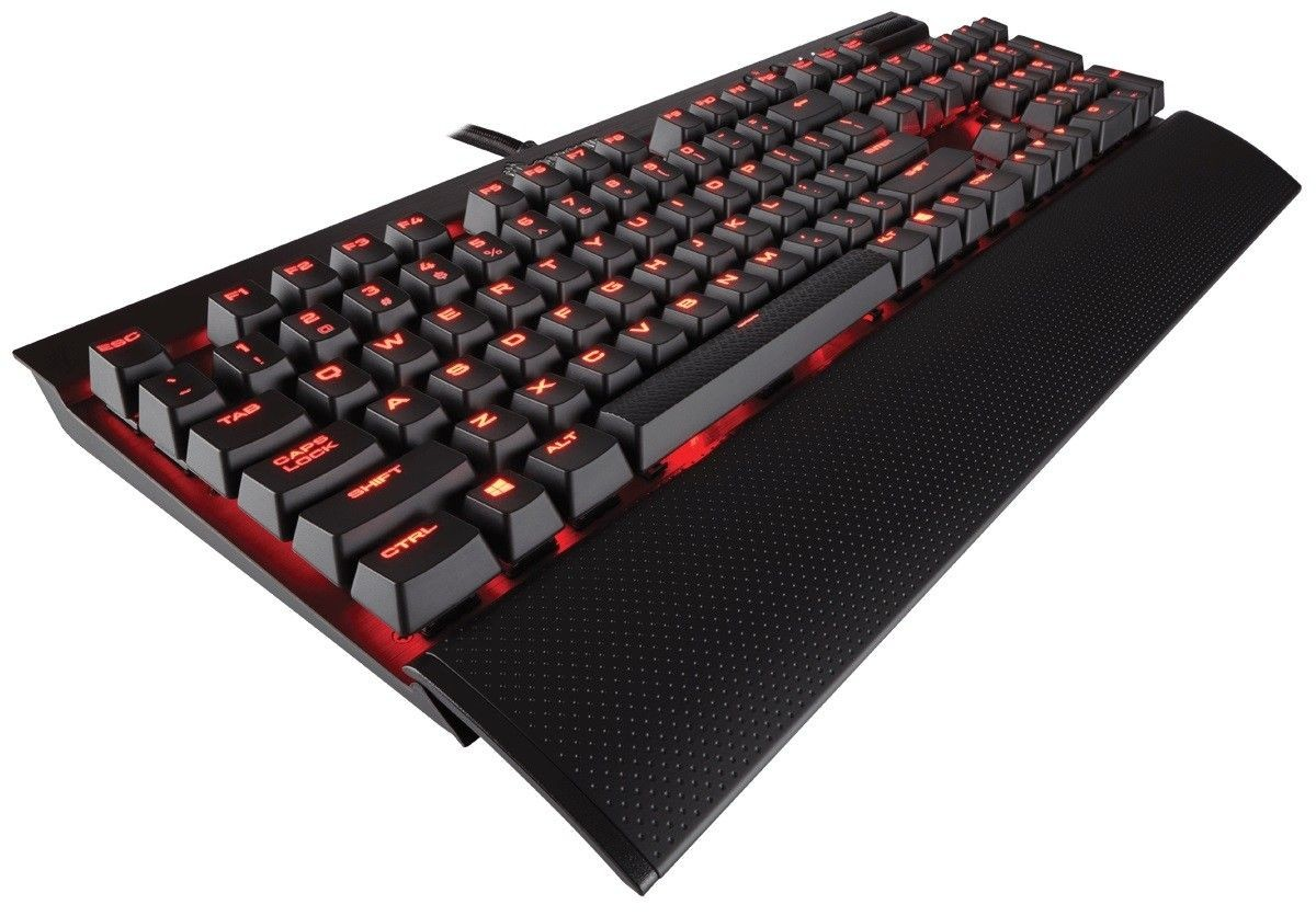 Corsair klawiatura mechaniczna K70 LUX - Red LED - Cherry MX Red (NA)