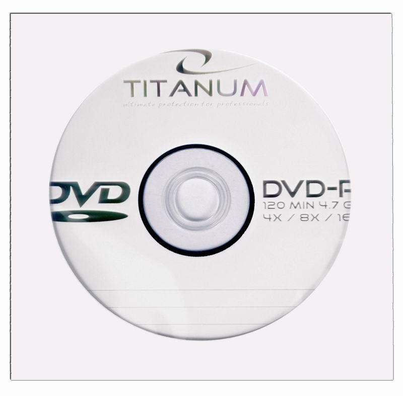 Esperanza Titanum DVD-R 4.7GB 8x (koperta, 1szt)
