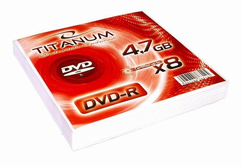 Esperanza Titanum DVD-R 4.7GB 8x (koperta, 10szt)