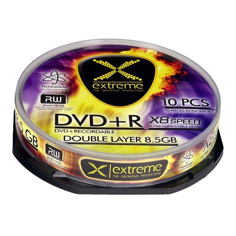 Esperanza Extreme DVD+R DL 8,5GB 8x (cake box, 10szt)