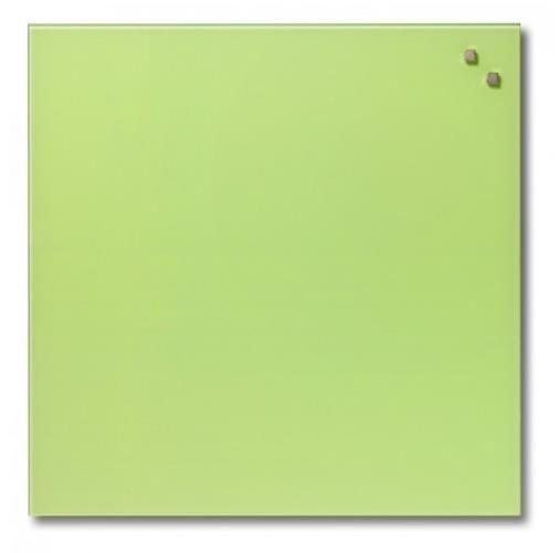 NAGA Szklana tablica magnetyczna awokado 45x45