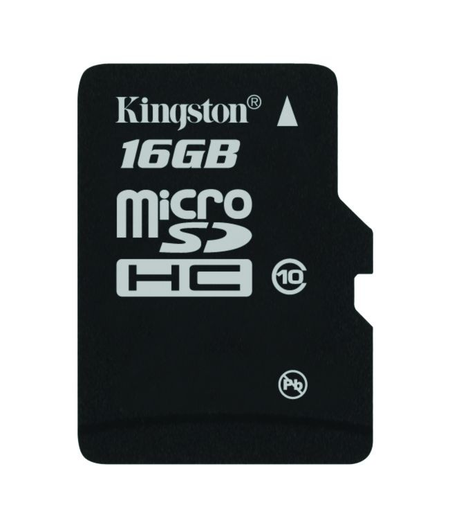 Kingston KARTA PAMIĘCI 16GB Micro SecureDigital Class 10 + AdapterSD /KINGSTON