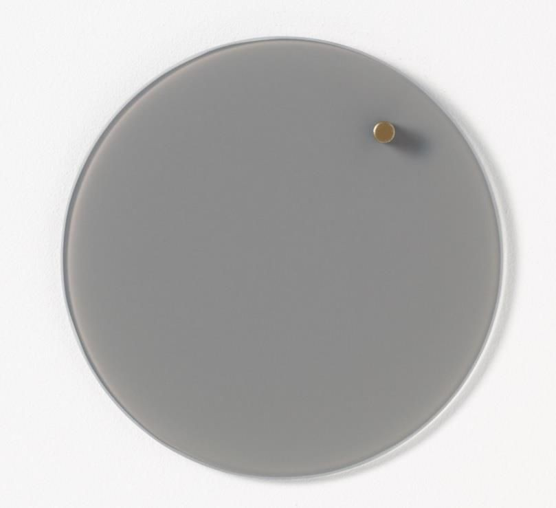 NAGA Szklana tablica magnetyczna szara 25 cm