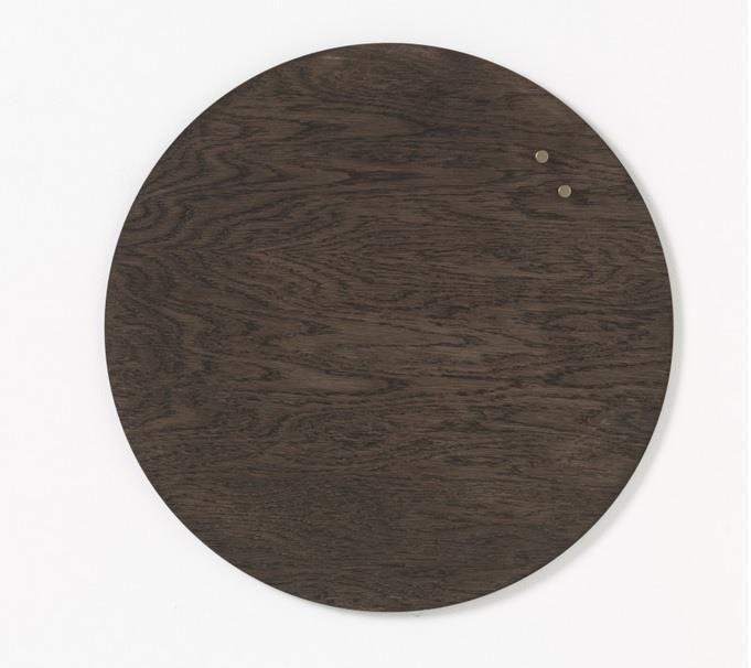 NAGA Tablica drewniana magnetyczna orzech 25 cm
