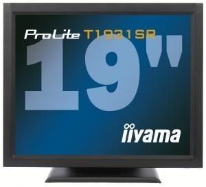 iiyama Monitor IIyama T1931SR-B1 19inch, TN touchscreen, 1280x1024, DVI, głośniki