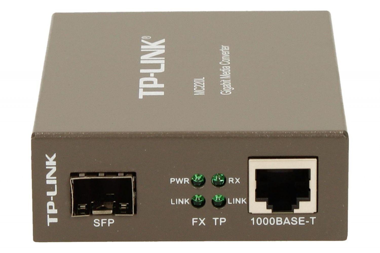 TP-Link MC220L konwerter 1000BaseT (RJ45) - 1000BaseSX/LX/LH (SFP)