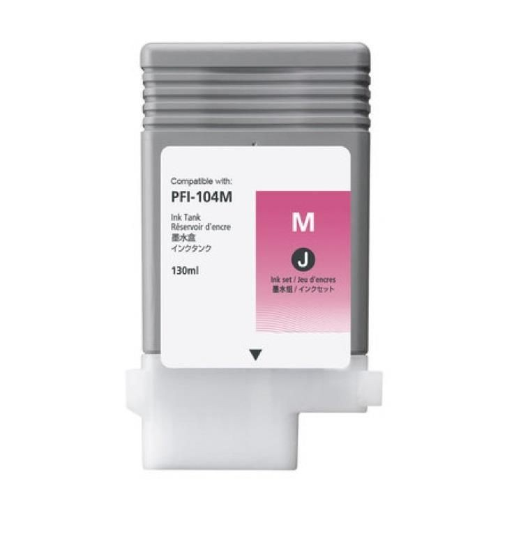 Canon Tusz PFI104 Dye Magenta | 130ml | iPF650/655/750/755