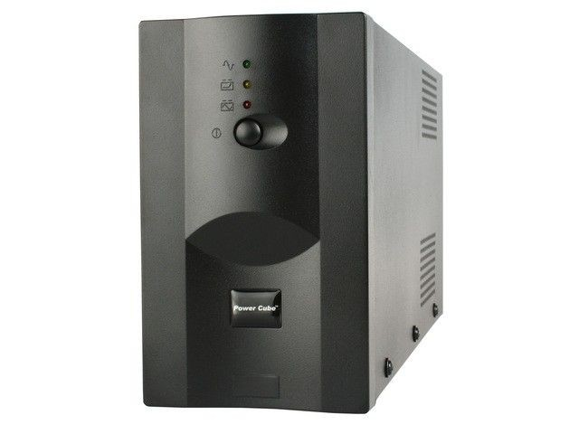 Gembird UPS power cube 1200VA (USB, RJ12x2)