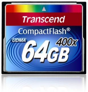 Transcend Compact Flash 64GB 400x