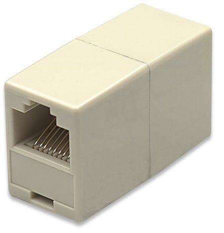 Intellinet adapter sieciowy łącznik RJ45x2 UTP (100szt)