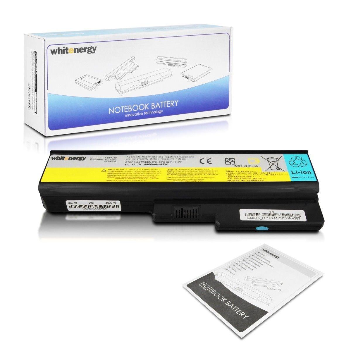 Whitenergy bateria do laptopa Lenovo 3000 G530 11.1V Li-Ion 4400mAh