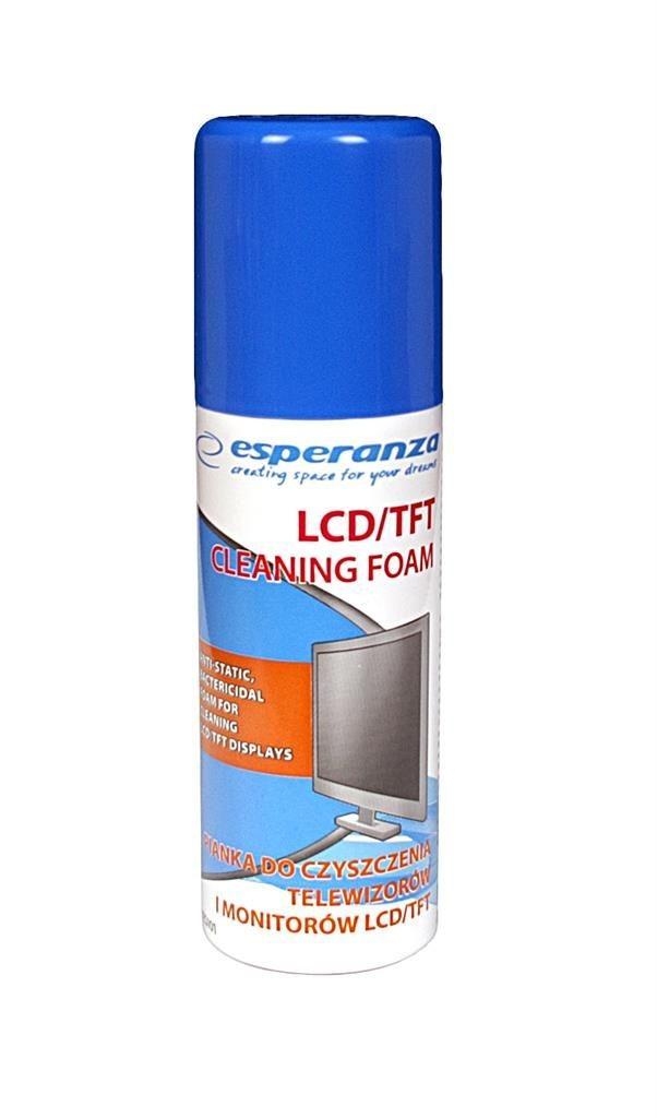 Esperanza pianka do czyszczenia monitorów i ekranów LCD/TFT 100ml
