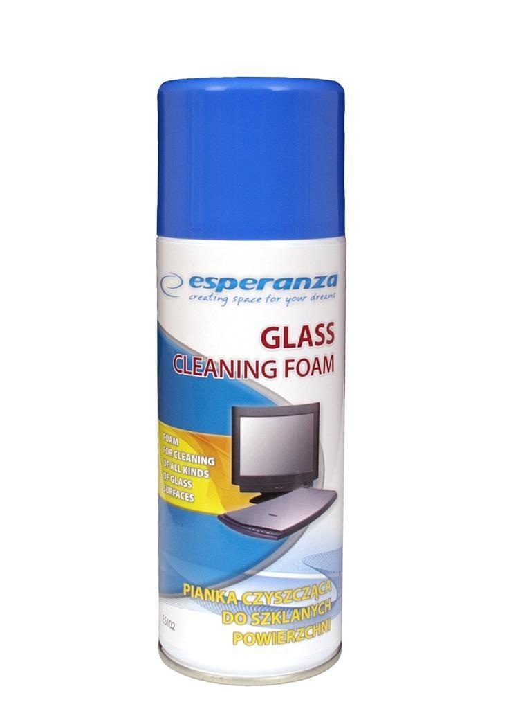 Esperanza pianka do czyszczenia powierzchni szklanych 400ml