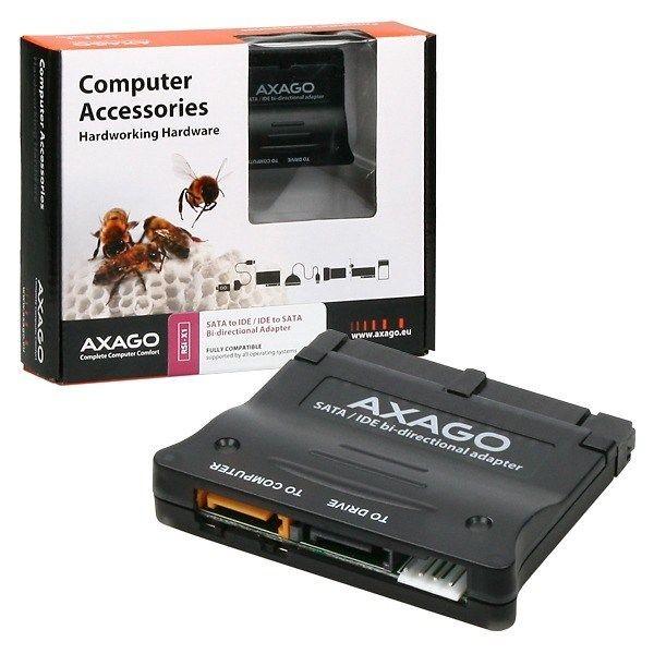 axago AXAGON - RSI-X1 SATA - IDE Bi-Directional adapter interní