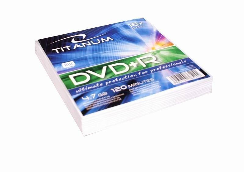 Esperanza Titanum DVD+R 4,7GB x16 (koperta, 10szt)