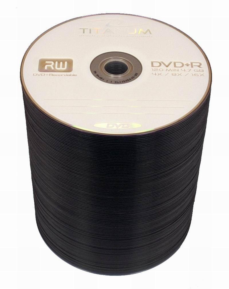 Esperanza Titanum DVD+R 4,7GB x16 (szpindel, 100szt)