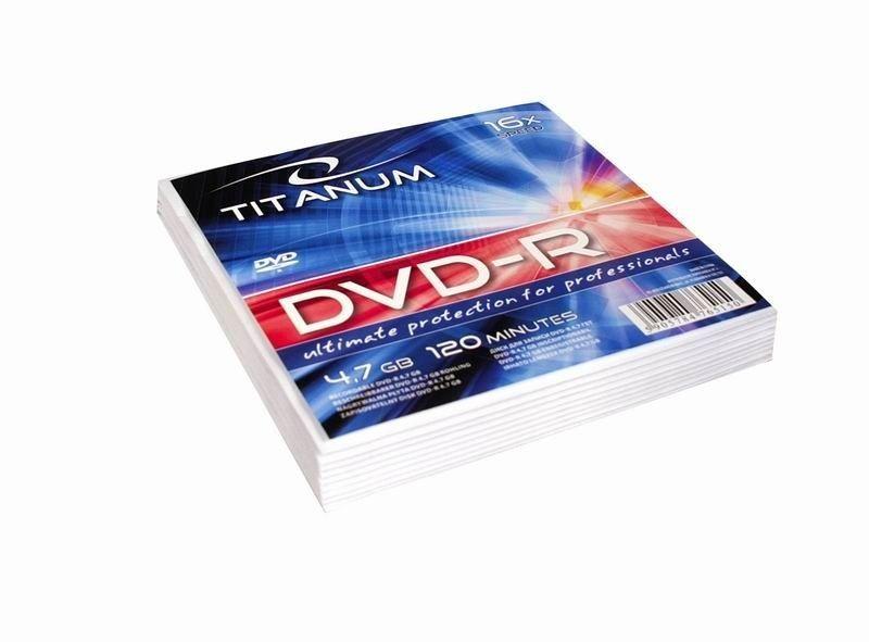 Esperanza Titanum DVD-R 4,7GB x16 (koperta, 10szt)