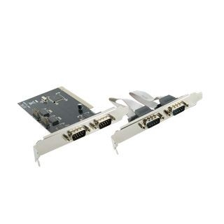 4World kontroler PCI do port szeregowy Serial RS-232 x4