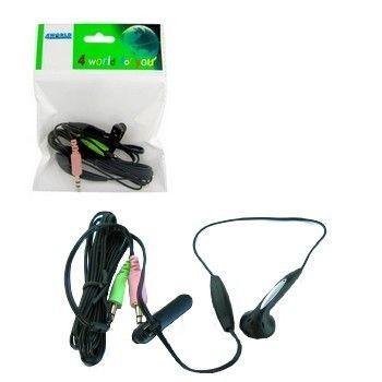 4World słuchawka z mikrofonem mini dla Skype