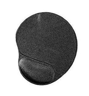 Gembird podkładka żelowa pod mysz, ergopad pod nadgarstek, czarna