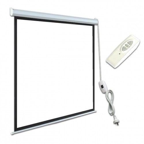 ART Ekran Elektryczny 4:3 100'' 203x152cm biały