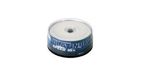 Platinum DVD+R 4,7GB 16x Printable (cake box, 25szt)