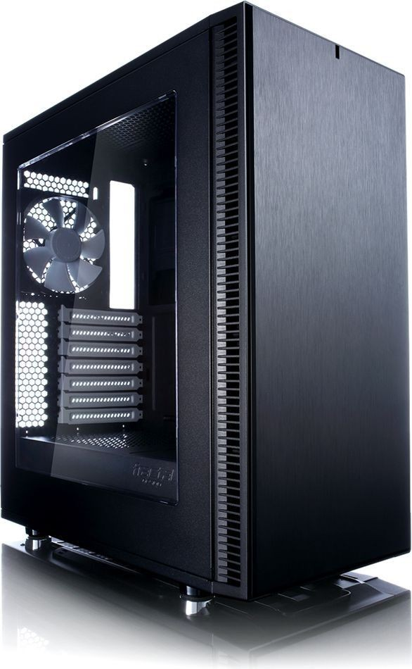 Fractal Design Define C Window 3.5 HDD/2.5'SDD uATX/ATX/ITX Black