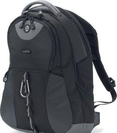 Dicota BacPacMission black 15 - 15.6'' czarny plecak na notebook