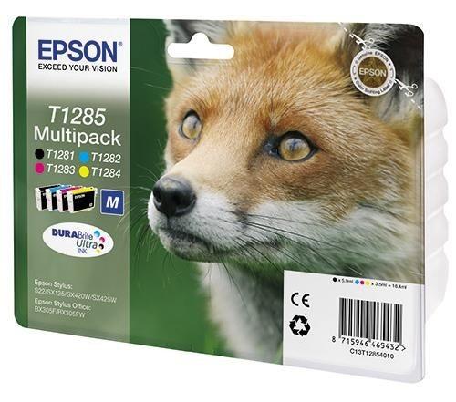 Epson tusz T1285 Multi Pack (Stylus S22/SX125/SX425W/BX305F)
