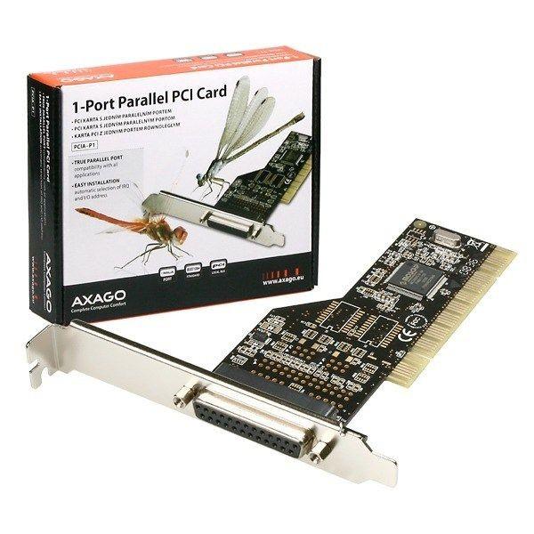axago PCIA-P1 PCI adapter 1x parallel port