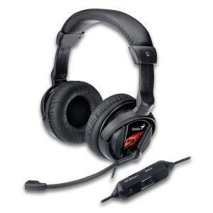 Genius Słuchawki Gamingowe HS-G500V (z mikrofonem), Wibracje