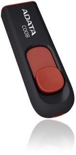 A-Data Adata pamięć USB C008 8GB USB 2.0 ( Czarny+Czerwony )