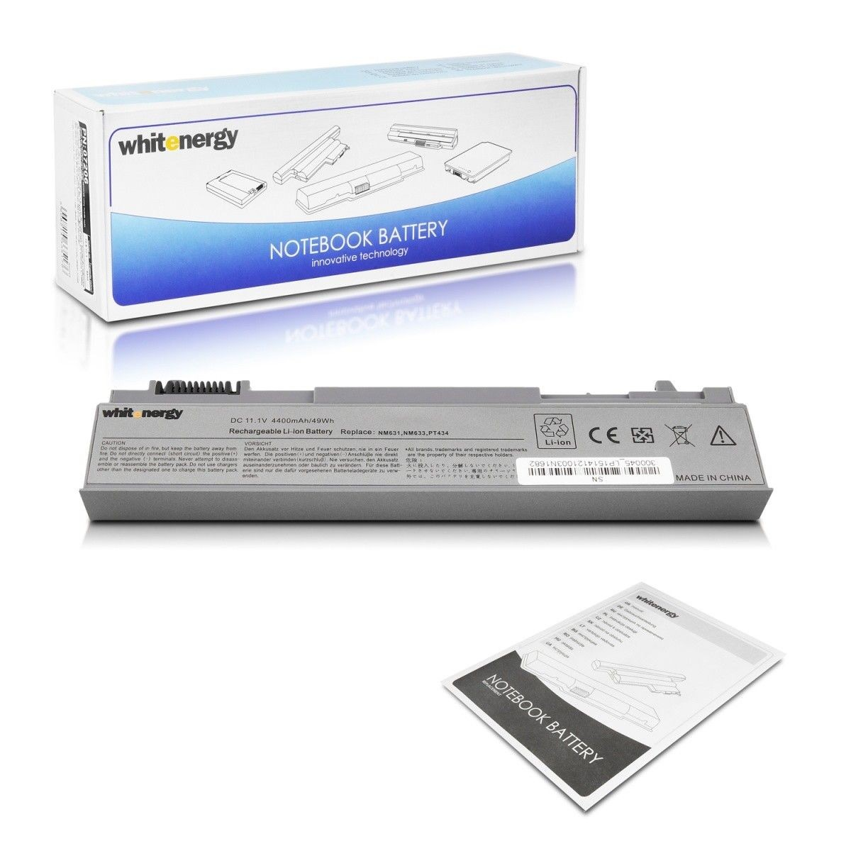 Whitenergy bateria do laptopa Dell Latitude E6500 11.1V Li-Ion 4400mAh
