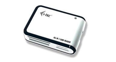 i-tec USB 2.0 All-in-One Memory Card Reader (white/black)