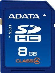 A-Data Secure Digital HC 8GB (Class 4)