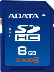 A-Data karta pamięci SDHC 8 GB Class 4