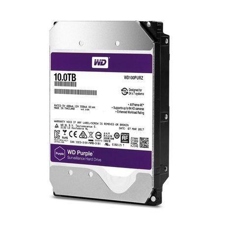 Western Digital Dysk twardy WD Purple, 3.5'', 10TB, SATA/600, 256MB cache