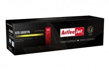 ActiveJet Toner ActiveJet ATO-5800YN | Yellow | 5000 str. | OKI C5800,C5900,43324421