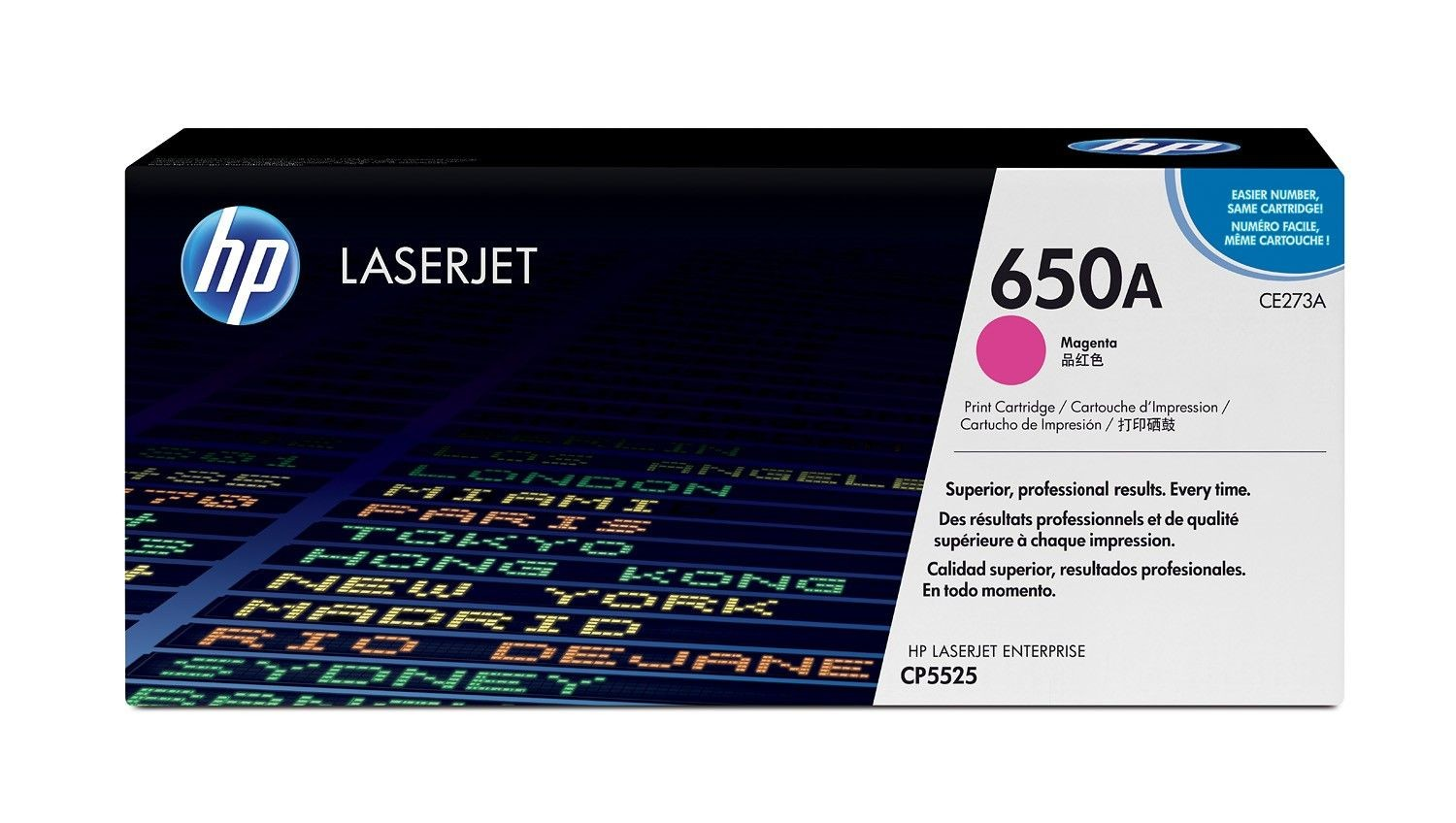 HP Color LaserJet CE273A Magenta Print Cartridge (15000str, LaserJet CP5525)