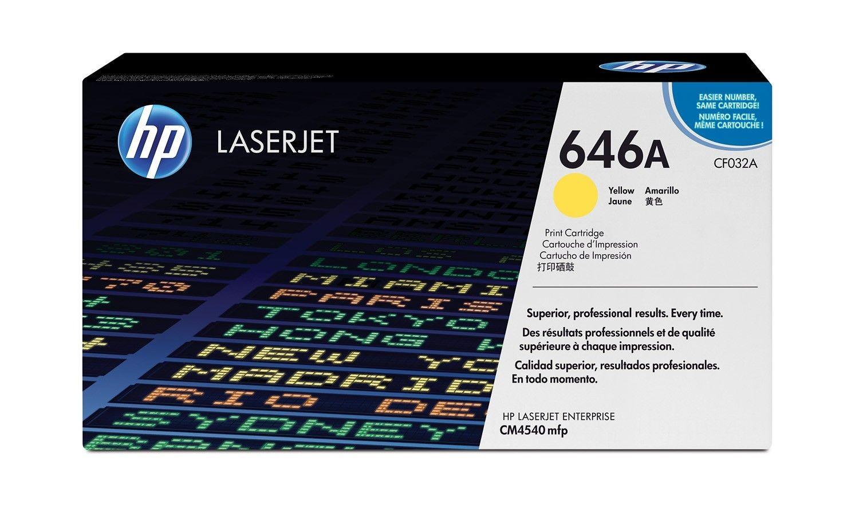 HP Color LaserJet CF032A Yellow Print Cartridge