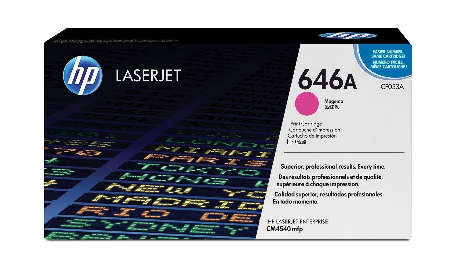 HP Color LaserJet CF033A Magenta Print Cartridge