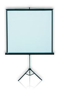 2x3 Ekran POP przenośny na trójnogy 128x171 (użytkowa 122x165)