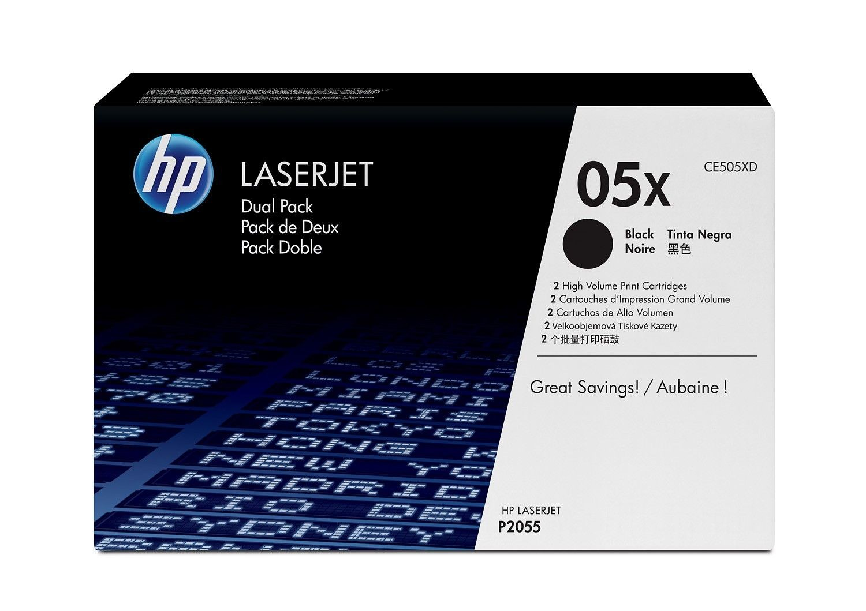 HP Toner HP black dual pack | HP LaserJet P2055d/P2055dn