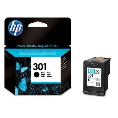 HP tusz 301 black