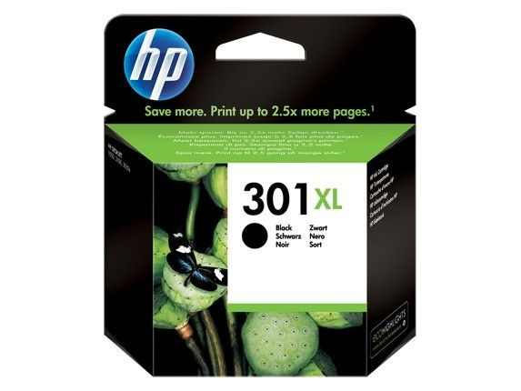 HP tusz 301XL black
